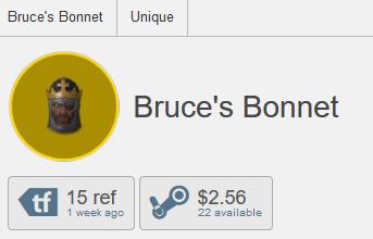 Bruce's Bonnet