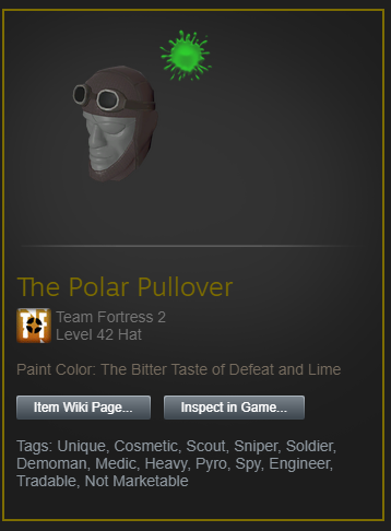 painted tf2 item