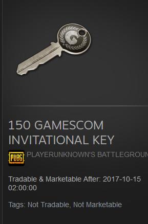 pubg keys